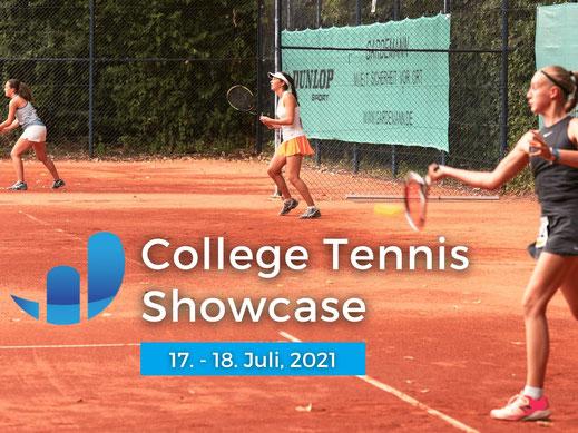 Am 17. und 18. Juli findet die nächste Auflage des uniexperts College Tennis Showcases statt. Zum ersten Mal wird das Event zusätzlich zu den Matches vor Ort auch virtuell auf der uniexperts Campus Online-Plattform veranstaltet, sodass sich die Nachwuchss
