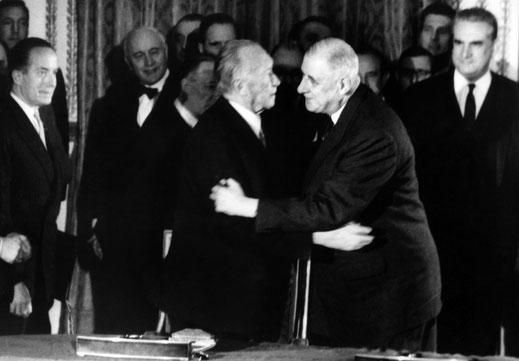 Das Wunder der deutsch-französischen Freundschaft. Foto: SPIEGEL online