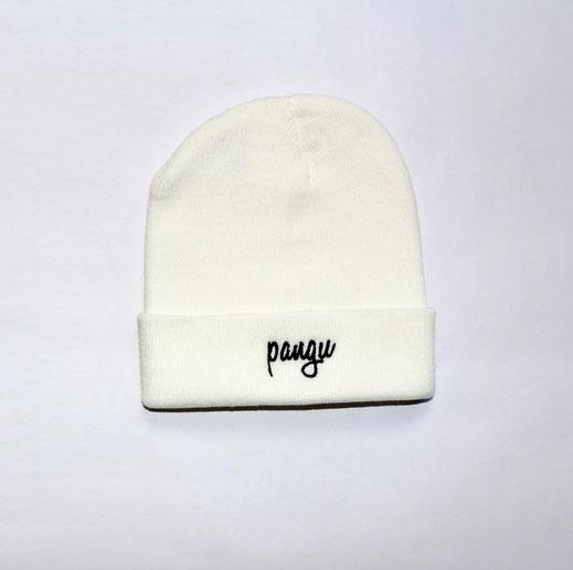 Classic pangu Beanie - weiß 100% Polyacryl - pangu.de