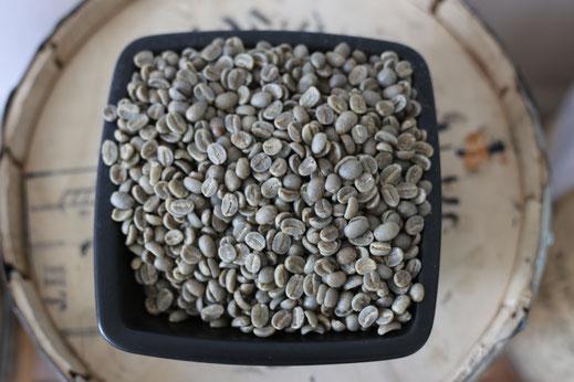 Green bean coffee, raw coffee
