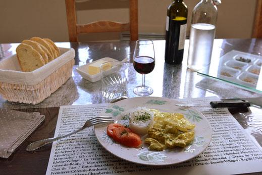 """diner """"soirtée étape"""" aux Jardins de la Pérouse du Mitan près de Fougères non loin du Mont Saint Michel"""