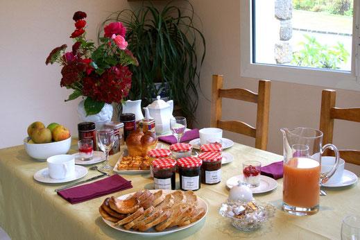 Petits déjeuners gourmands aux Jardins de la Pérouse du Mitan
