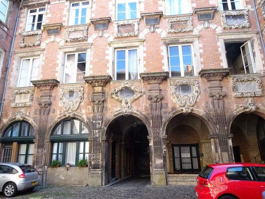 Cour intérieure de l'Hôtel de Clary