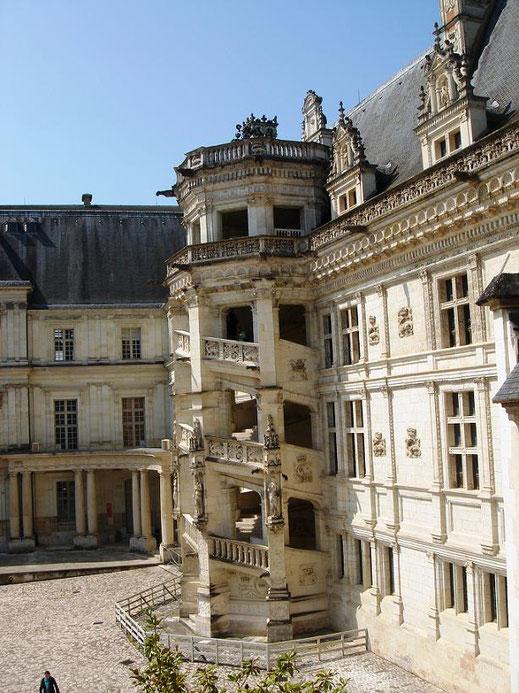 L'escalier de François 1er