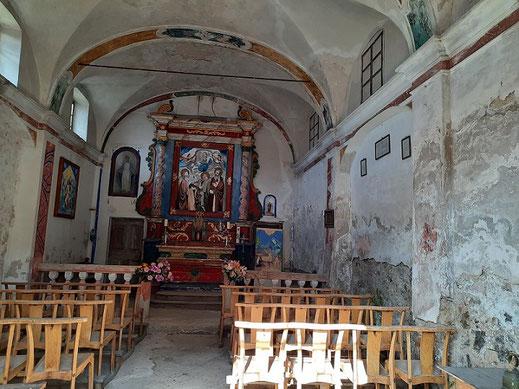Intérieur de l'église Notre-Dame-des-Neiges