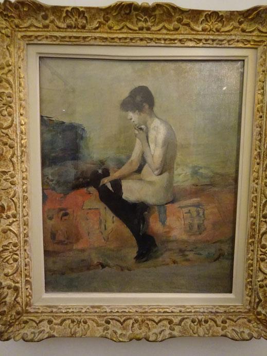 Femme assise sur un divan, 1882