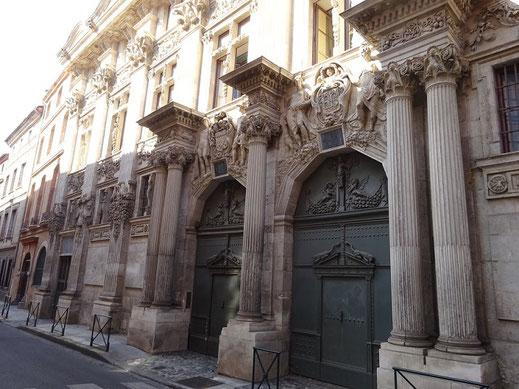 Façade extérieure de l'Hôtel de Clary