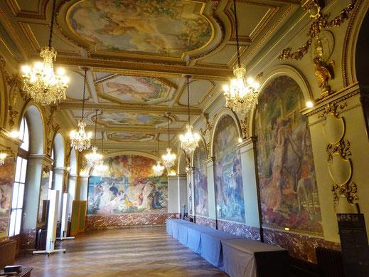 La salle Gervais, du nom du peintre qui la décora