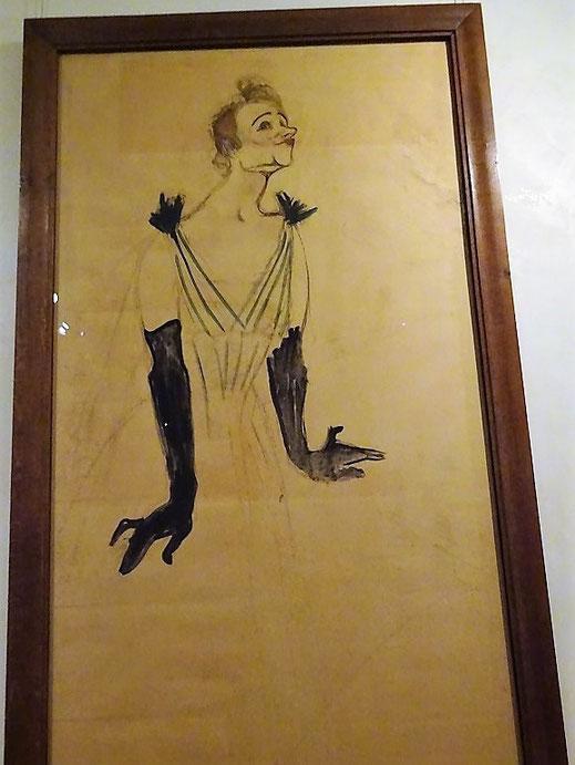 Yvette Guilbert, 1894