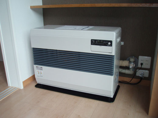 空調システム]FF式ストーブ - 電...