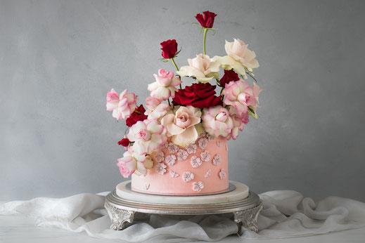 Naked Cake Saarland Hochzeit Süße Poesie