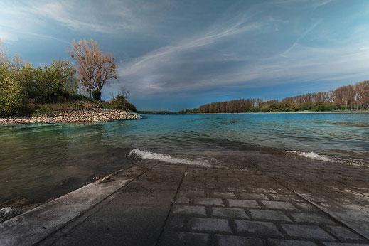 Rhein bei Gimbsheim © Jutta M. Jenning ♦ mjpics.de