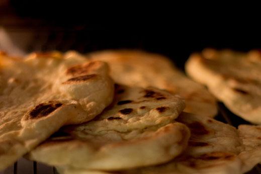 Naan-Indische Brote selbstgemacht