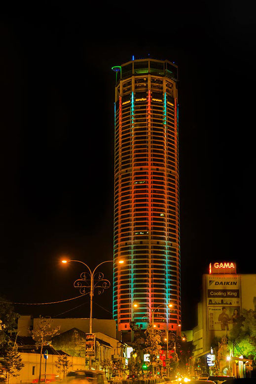 Komtar Tower in Georgetown auf Penang  © Jutta M. Jenning ♦www.mjpics.de