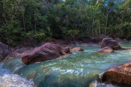 Than Sadet Nationalpark-Wasserfall-Koh Phangan-Thailand
