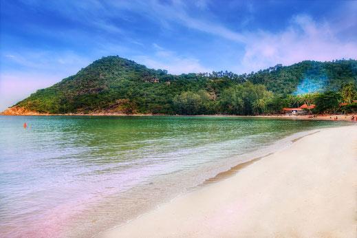Thong Nai Pan Yai Beach auf Koh Phanghan-Thailand