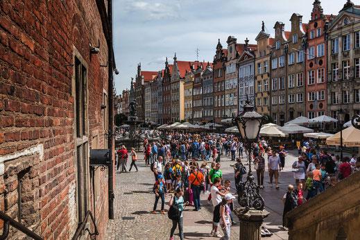 """Am """"Langen Markt"""" Danzig © Jutta M. Jenning"""