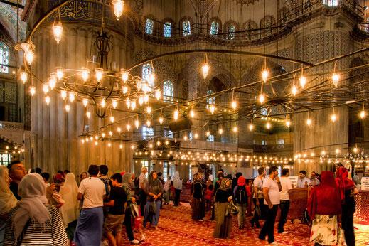 In der blauen Moschee-Istanbul