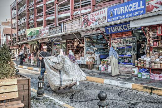 Strassenszene in Üsküdar-Istanbul
