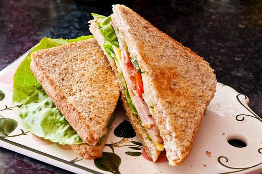 Schinken-Käse-Sandwich