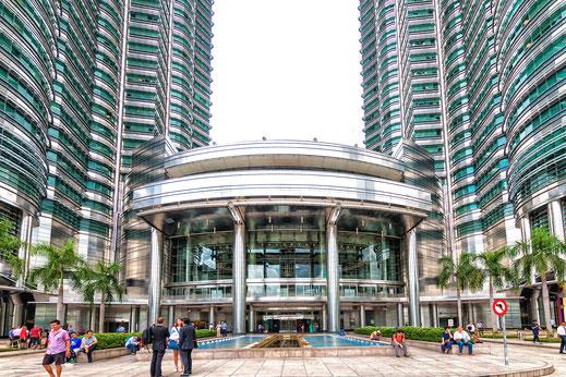 Eingang Shopping Center KLCC in Kuala Lumpur © Jutta M. Jenning