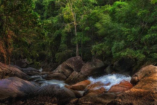 Than Sadet Nationalpark-Wasserfälle-Koh Phangan-Thailand