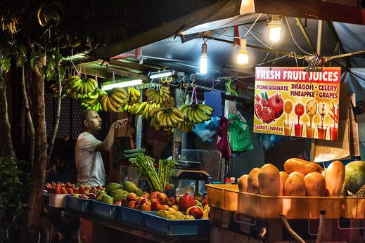 Früchtestand auf dem Nightmarket auf Langkawi Island