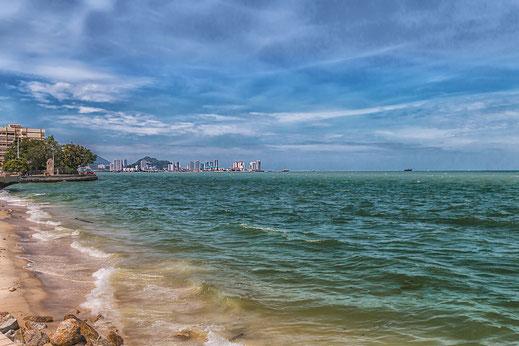 Strandpromenade in Georgetown auf Pulau Penang