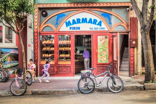 Bäckerei auf der Prinzeninsel Büyükada