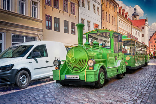 Mit der Bimmelbahn durch Wittenberg