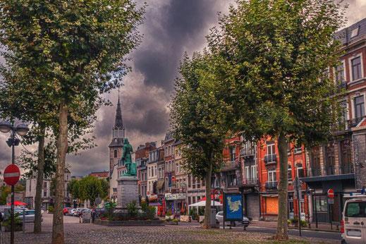 Stadtbild Verviers in Belgien © Jutta M. Jenning/mjpics.de