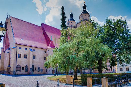 Die Stadtkirche in Wittenberg