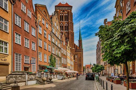 Mariengasse in Danzig-Polen © Jutta M. Jenning/mjpics.de