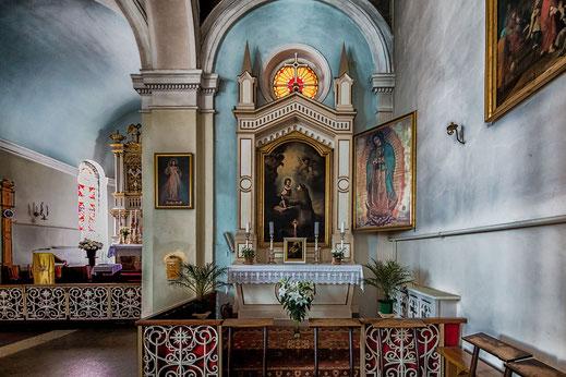 Innenansicht Muttergotteskirche in Riga