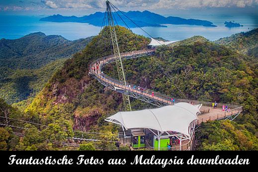 Sky-Bridge auf Langkawi Island-Reisefotografie Malaysia