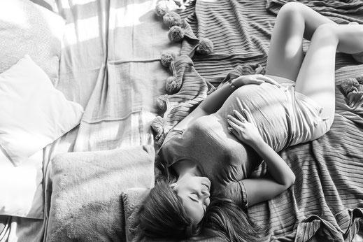 Babybauch-Shooting bei Kirsten Buch Fotografie