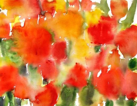 Sylvie Lander, peinture, aquarelle, couleur, #SylvieLander