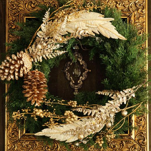 クリスマス クリスマスリース クリスマスレッスン