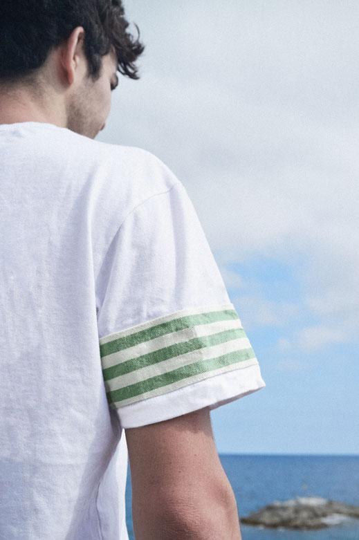 cloth of tongues green