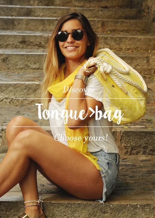 Tonguebag_tela de llengües
