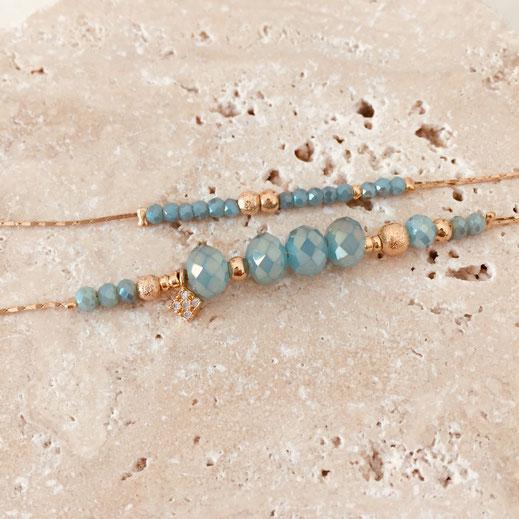 bracelet gwapita marius caraibe bleu turquoise
