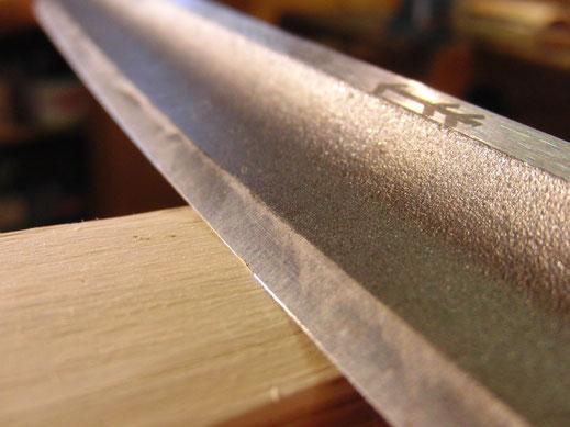 Bogenbau 1 Langbogen Ziehmesser Zugmesser