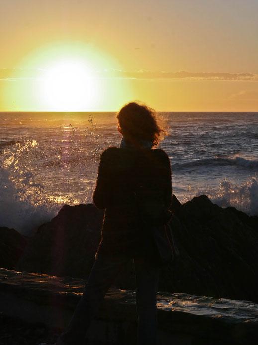 Coucher de soleil, Bretagne