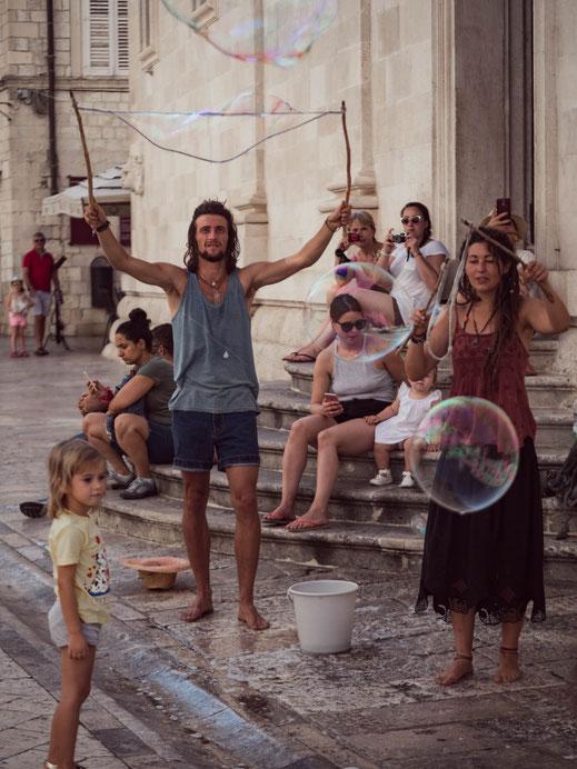 Artistes de rue - Dubrovnik