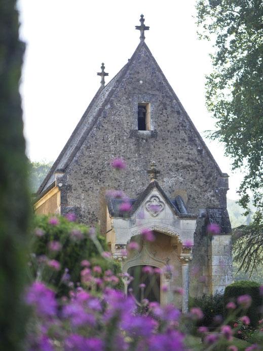 Château de Courtanvaux, chapelle