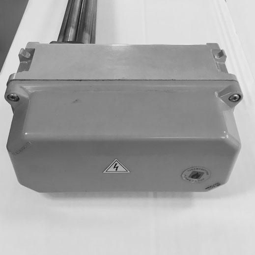 Resistenze corazzate Lorenzoni con termostato e teleruttore - scatola Palazzoli