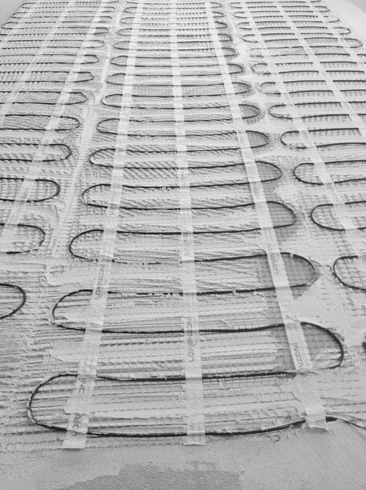 Riscaldamento elettrico a pavimento, lor mat system lorenzoni