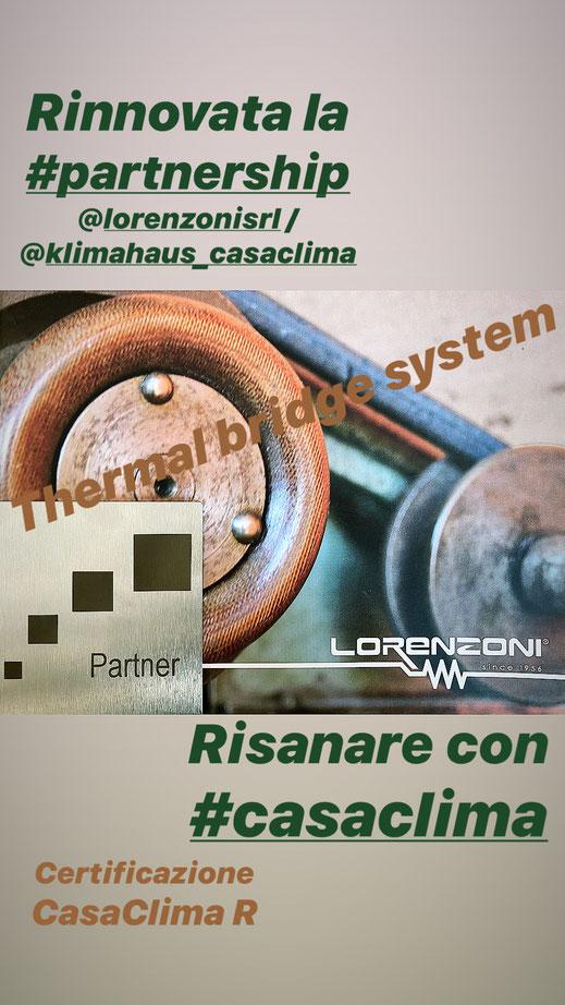 thermal bridge system - lorenzoni, casaclima, klimahausagentur, risanamento energetico , ristrutturazione edilizia