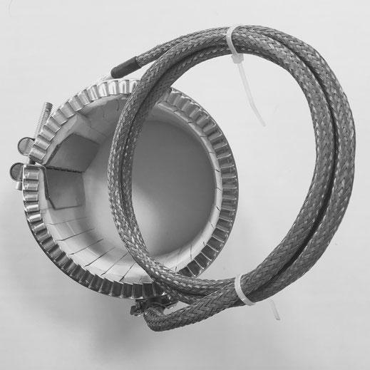 Resistenze a fascia con isolamento in ceramica Lorenzoni