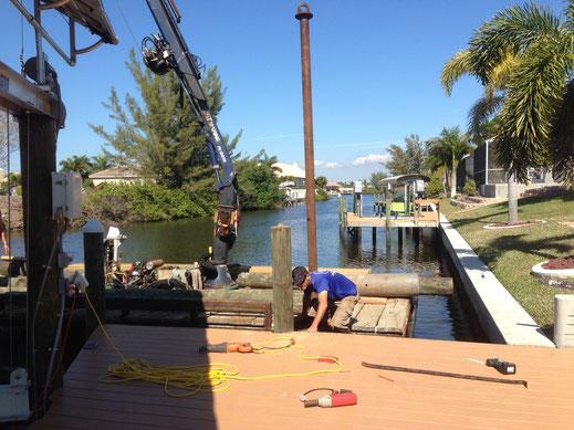 Dockerweiterung Villa Coral Laguna
